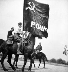 Spain - 1936-39. - GC - Miliciano del POUM a caballo.