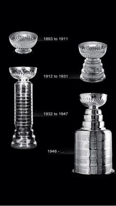 The evolution of the Stanley Cup. Once you're on it, you're on it forever. Flyers Hockey, Boston Bruins Hockey, Blackhawks Hockey, Hockey Games, Hockey Mom, Chicago Blackhawks, Hockey Logos, Hockey Stuff, Hockey Quotes