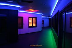 http://mosslounge.com/innovative-led-lighting-strips/ Innovative LED Lighting Strips : Hallway Accent Lighting LED Lighting Strips