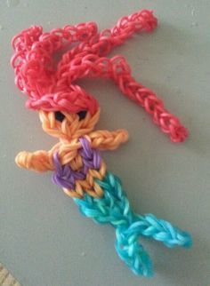 Rainbow Looms: Mermaid - DIY Arts & Crafts