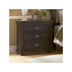 Progressive Furniture Willow 3 Drawer Nightstand & Reviews | Wayfair