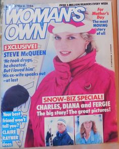 WOMAN'SOWN march 8, 1986 - Charles, Diana and Fergie