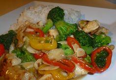 Stir-fry de pollo y brócoli #comidachina