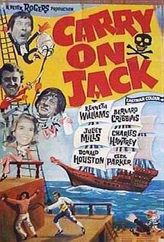 Carry On Jack (1963) Movie Posters https://www.youtube.com/user/PopcornCinemaShow