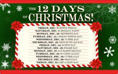 The 12 DAYS OF CHRISTMAS are finally here!!! Deals on Botox, Filler, CoolSculpting and much more!!!  Call Turkle & Associates in Carmel, Indiana to make an appointment at 317.848.0001 or online at www.turklemd.com