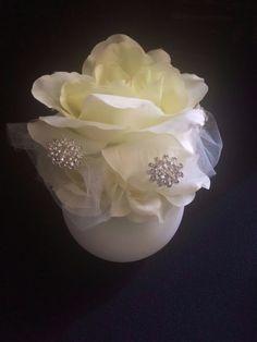 ELIXITA Centerpiece Wedding Decoration Center Flowers Silk Gems #ELIXITA
