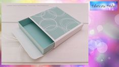 Mini Gift Drawer Box featuring Stampin' Up! Products