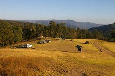 Camping in Kanangara walls, NSW