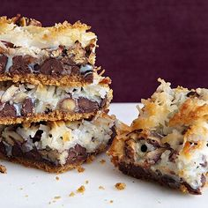 Mexican Magic Bars make the perfect handheld game-day treat