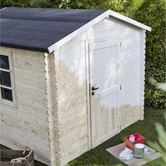 Abri de jardin en bois Kluane NATERIAL, 4.32 m², ép. 12 mm | ideas ...