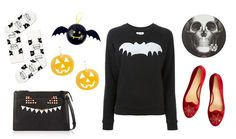 Blusas, sabrinas ou brincos aterradores para o seu look de Halloween.