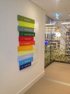 Burwood Library & Community Hub - Opened March 2014 - Signage by Wizardry Imaging & Signs