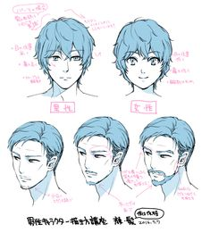 How to draw male characters | Palmie (Palmy)