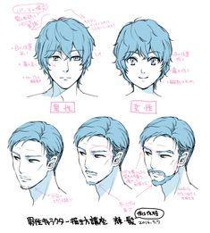 男性キャラクターの描き方|Palmie(パルミー)