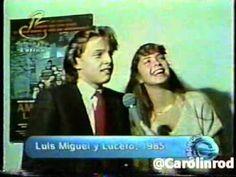 Lucero y Luis Miguel 1984 Entrevista