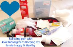 Relieving pain with #WellAtWalgreens Keeping my family Happy & Healthy #Shop