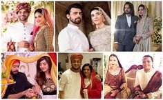 The year 2016 was lucky for those Pakistani showbiz stars, who got married and started a new journey of their lives. Most of these marriages were kept secret as it is