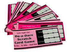 Party Dares, Invite, Invitations, Hens Night, Bridal Showers, Card Games, Place Cards, Alternative, Meal