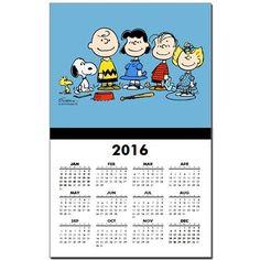 The Peanuts Gang Calendar Print on CafePress.com