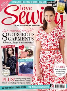 Image result for love sewing issue 22