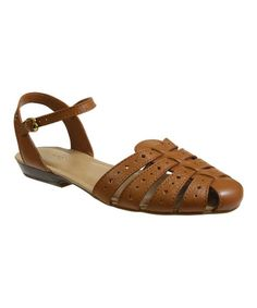 Whiskey Channing Leather Sandal