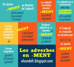Les adverbes en -men