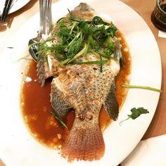 #food #foodporn #restaurant #yummy #Toronto #Montrealblogger #ontario #canada #fish #tilapia December 24 2017 at 06:15PM