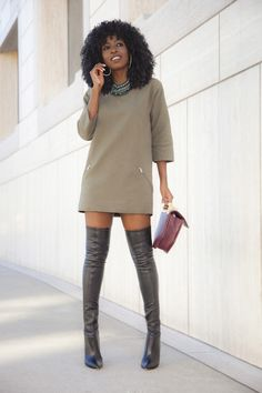 Quilted Mod Dress