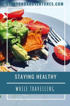 Staying healthy while travelling overland has it challenges. What to eat? How to maintain physical health? I found a great answer to share with you! Health And Safety, International Recipes, Stay Fit, Street Food, Food Hacks, How To Stay Healthy, Foodies, Travelling, Health Care