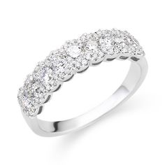 Fashion Diamond Wedding Band 118-02044-Andrews Jewelers, Buffalo NY