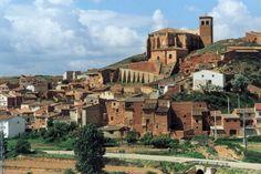 castillo ibdes - zaragoza - españa
