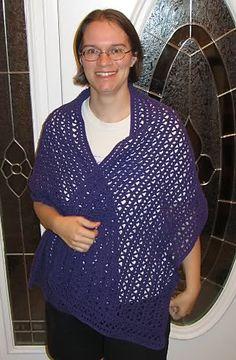 Ravelry: Lacy Shawl pattern by PurpleIguana