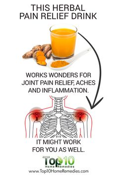This herbal pain relief drink works wonder for join pain relief, aches and inflammation. It might work for you as well.