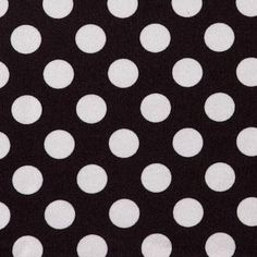 Black & White Dots Made to Order