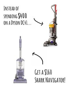 Vacuum: Dyson vs. Shark | 13 Cheaper Alternatives To Life's Expensive Necessities
