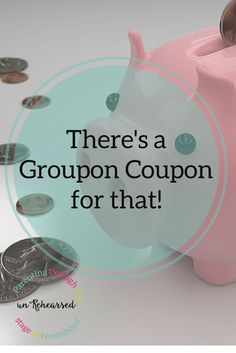 #ad #spon #GrouponCoupons There's a Groupon Coupon for that!