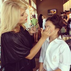 Even our teens love their time in the Makeup chair!