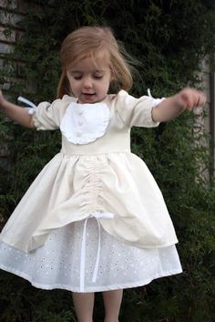 550f3c0a35a Amelia dress tutorial- love the ribbon gathers