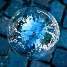bubble reflections | ... and Landscapes photographed into Soap Bubble Reflections | Ufunk.net