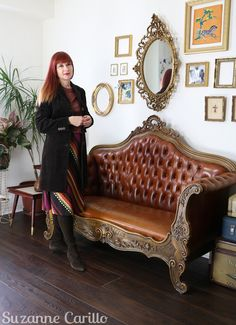 unrealistic expectations on female aging suzanne carillo over 50 style 50 Style, Fashion Over 50, Lounge, Couch, Adventure, Female, Furniture, Home Decor, Women