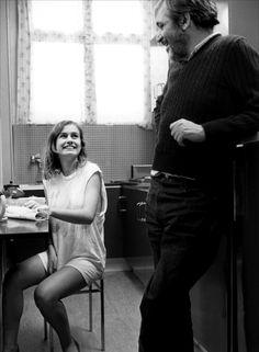 Sandrine Bonnaire & Maurice Pialat