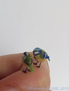 Handmade miniature Animals by Fanni Sandor