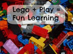 #LEGO + Play = Learning. Article about why LEGO is a great toy and ways boys can learn by playing with it.