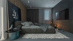 Bedroom two concepts on Behance