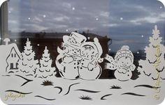 Украшение Новый год Вырезание Новые Новогодние мотивы Бумага фото 2