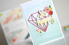 Fancy Free string art card + tutorial | by Flóra Mónika Farkas