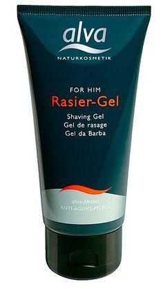 Alva For Him Sensitive Shaving Gel