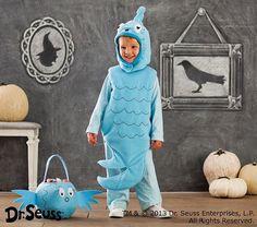 Pottery Barn Kids Dr. Seuss's™ Blue Fish Halloween Costume, 7-8