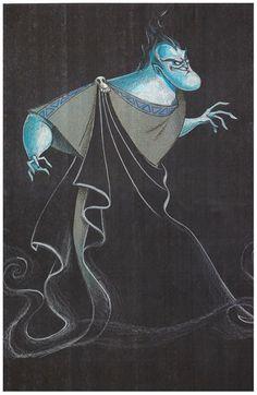 Hades concept art from Disney's Hercules