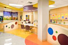 ER check-in desk, Renown Children's Hospital, Reno, NV.